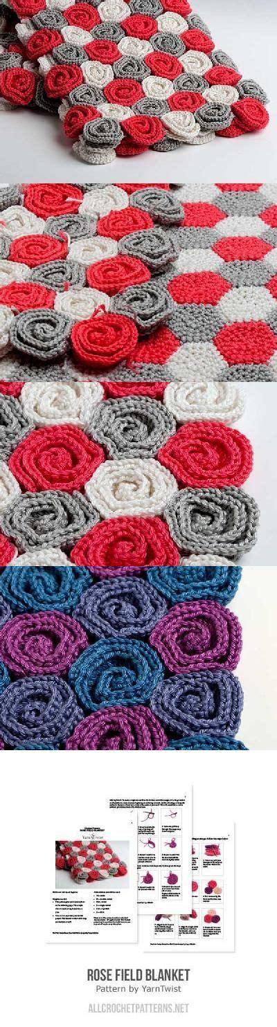 crochet pattern rose field baby blanket rose field blanket crochet pattern by yarntwist blanket