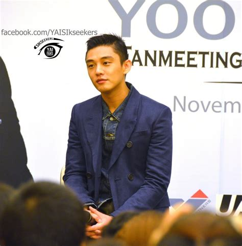 yoo ah in thailand photos videos trans yoo ah in thailand fanmeeting 2014