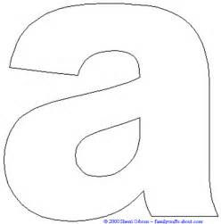 lower case letter coloring page image