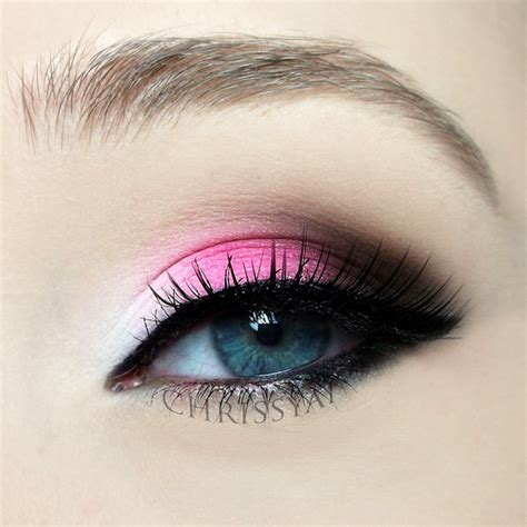 valentines makeup pink eye makeup for the s day