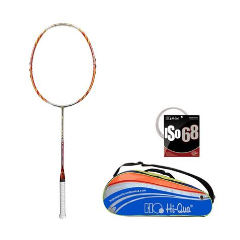 Raket Hi Qua jual hi qua bb limited edition 09 raket badminton with tas