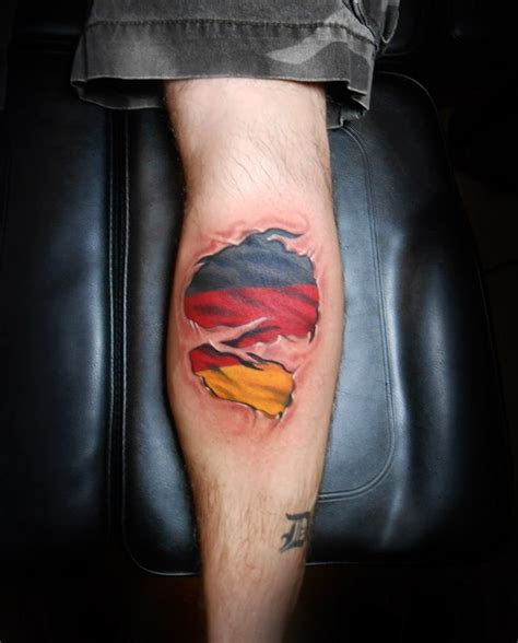 german flag tattoo german flag skin rip by chad jacob follow him on