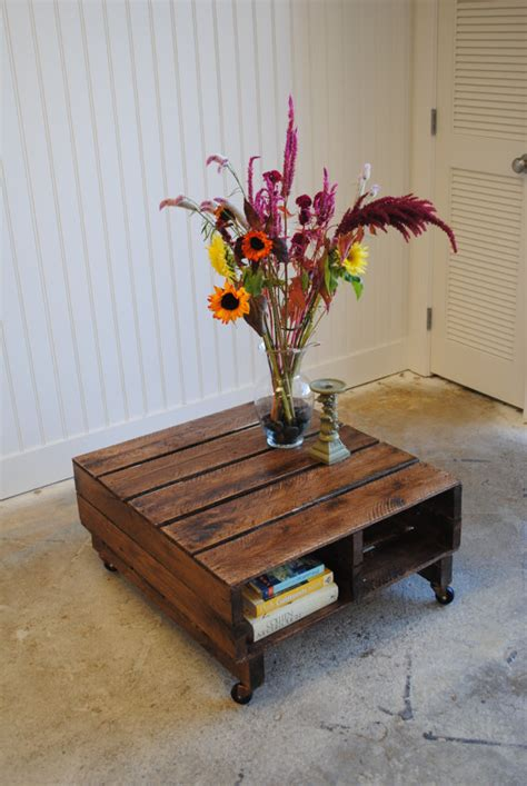 Coffee Table With Pallets 25 More Ways Of Turning Pallets Into Unique Pieces Of Furniture