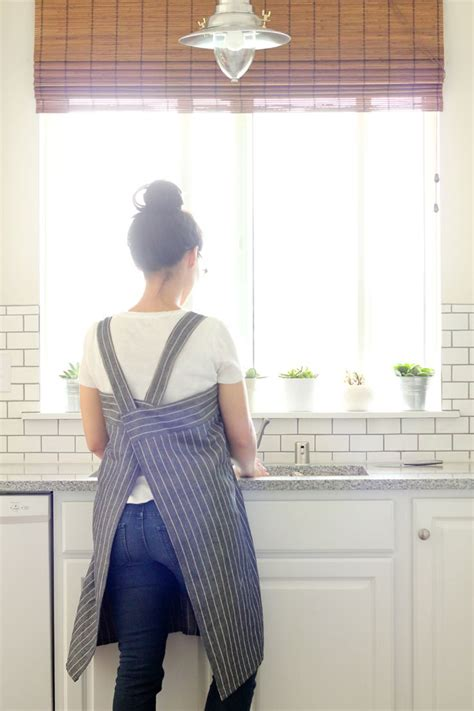 sewing cross back apron cross back apron sewing happiness book review www