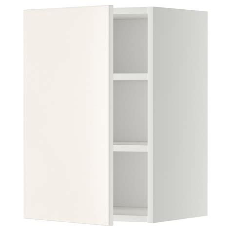 ikea cabinet shelf metod wall cabinet with shelves white veddinge white 40x60