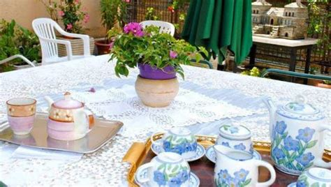 casa adele roma colazione all aperto foto di casa adele roma tripadvisor