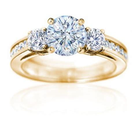 beautiful gold engagement ring cherrymarry