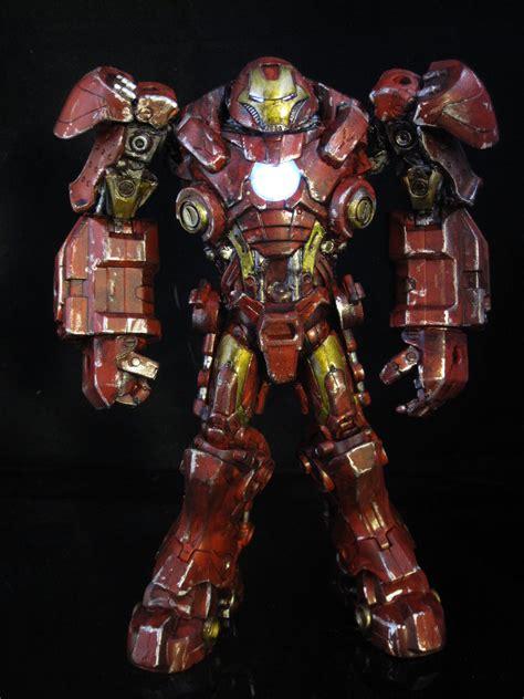 Handmade Armor - iron buster stark tech armor custom sabretooth