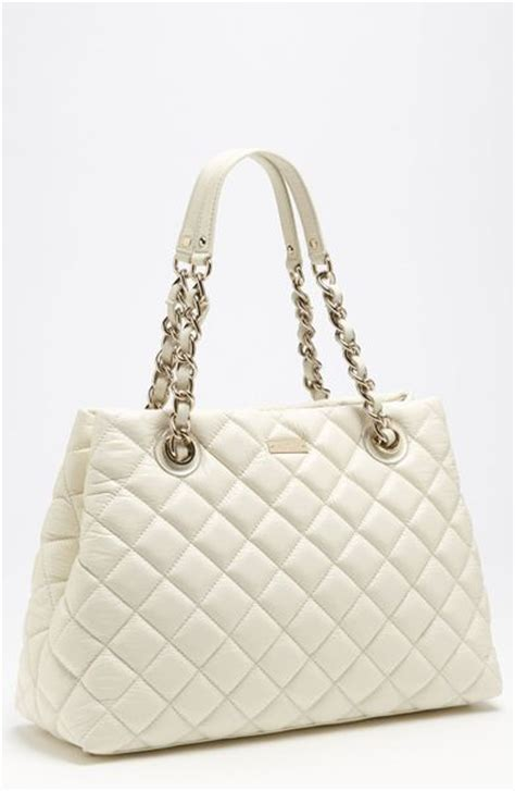 Quilted Purse by Kate Spade Gold Coast Maryanne Quilted Leather Shopper In