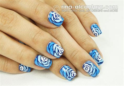 easy nail art with two colours very pretty any color would look great polished