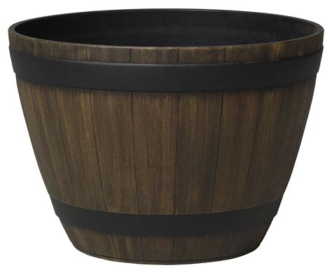 Hdr Planter by 15 Quot Wine Barrel Planter Tools Garant