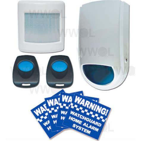 budget wireless home alarm system
