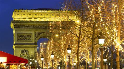 wallpaper christmas paris full hd wallpaper arch of triumph christmas illumination