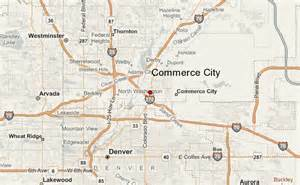 commerce city co map images