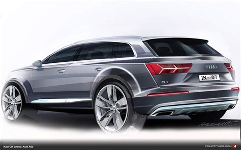 Audi New Q7 by Audi Design Draws The New Q7 Fourtitude