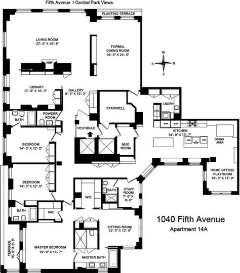 820 Fifth Avenue Floor Plan 591 best images about luxurious apartments on pinterest