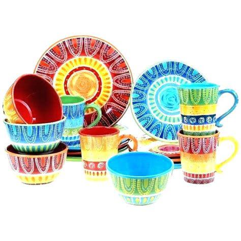 multi colored dinnerware sets multi colored dinnerware sets regent classic square