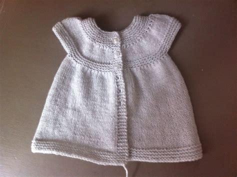 Modele Tricot Robe Bebe Facile Gratuit