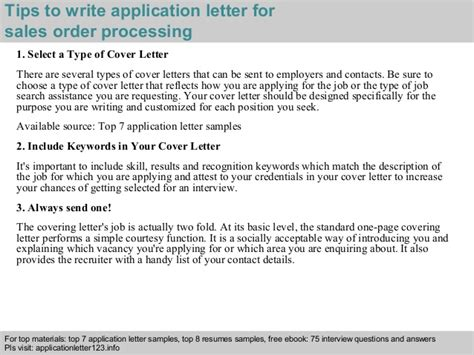 Membership Administrator Cover Letter by Sales Order Processing Application Letter