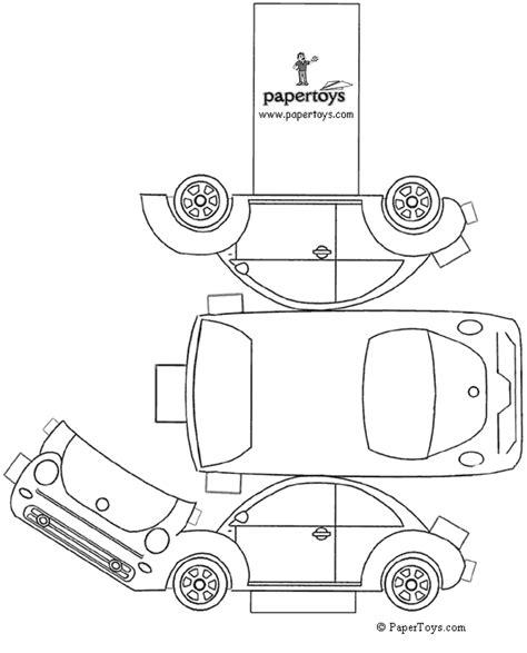 black and white car paper model templates cortar y pegar coches bmw faq club