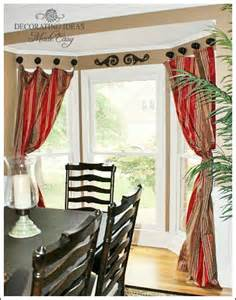 Valances For Bay Windows Bay Window Treatments That Won T Break Your Budget