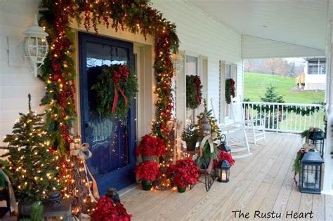 front porch christmas decor elegant christmas decorating ideas for you