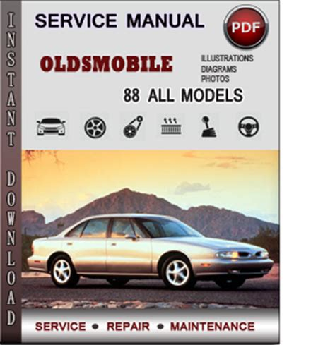 Oldsmobile 88 Service Repair Manual Download Info