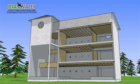 desain gedung minimalis desain gedung walet rbw 4x7 3 lantai dan 2 rumah monyet