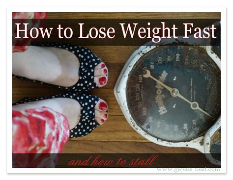How To Lose Weight If Trim Healthy How To Lose Fast How To Stall Gwen S Nest