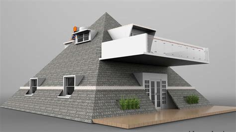 pyramid house design excellent pyramid house plans pictures best inspiration