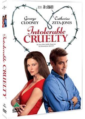 Intorerable Cruelty Dvd Region 3 intolerable cruelty dvd laserdisken dk salg af dvd