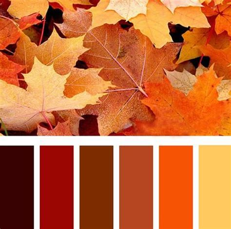 fall paint color palettes
