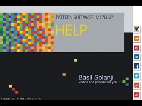 download pattern software m1 plus stoll m1 plus creat pattern youtube