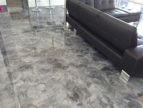 Epoxy Flooring House Modern SW