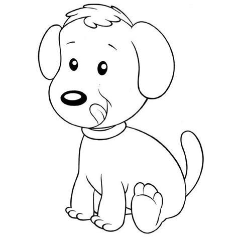 Imagenes Para Colorear Un Perro | dibujos de perros para pintar dibujos de perros para colorear