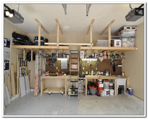 Garage Plans With Storage Garage Overhead Storage Home Design Ideas