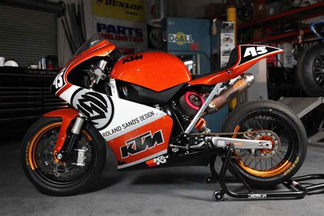 Roland Sands Ktm Rsd Build Of The Week Ktm 450 Essential Style For
