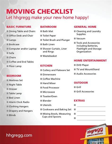 furnishing a house checklist blog hhgregg com wp content uploads 2014 07 hhg moving