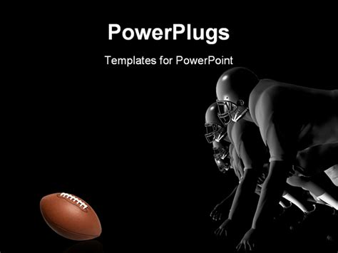 powerpoint template a number of rugby players trying to