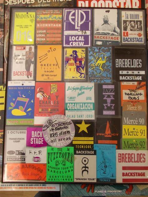 vender entradas de conciertos entradas de conciertos a 241 os 90 back stage organ comprar