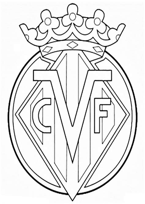 imagenes para colorear futbol escudos de futbol dibujos para colorear