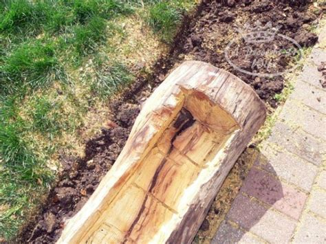 a log planter for flowers a proverbs 31
