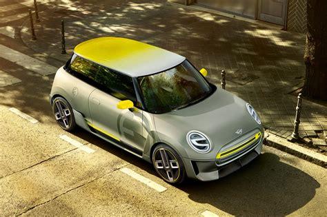 electric mini truck mini electric concept at frankfurt 2017 by car magazine