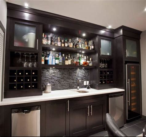 113 Best Ideas About Home Bar On Mini Bars 25 Best Ideas About Basement Bar Designs On