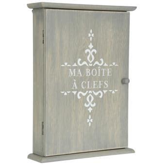 armoire à clefs en bois boite armoire 224 cl 233 s murale rangement des clefs en