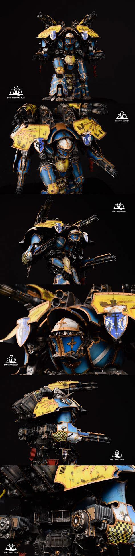 repository pattern overkill mars alpha pattern warlord titan warhammer 40k aos