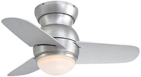 small ceiling fans with light flush mount low profile ceiling fans knowledgebase