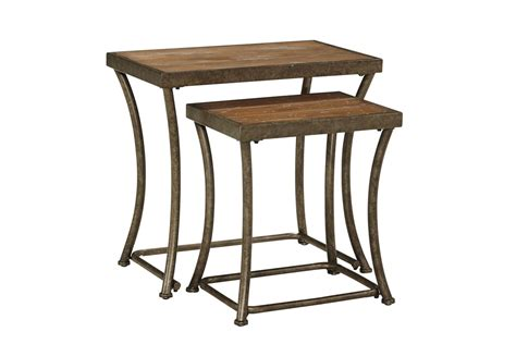Nesting End Tables Nartina Nesting End Tables By At Gardner White