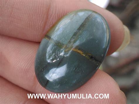 Batu Akik Hitam Disenter Hijau batu akik tapak jalak hitam asli kode 520 wahyu mulia
