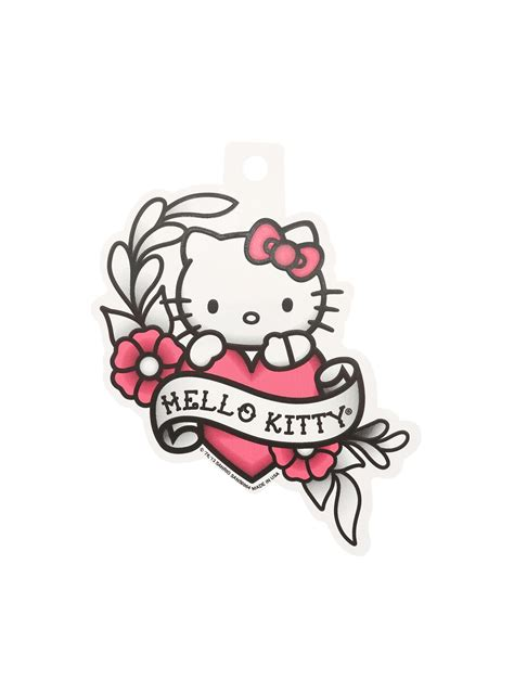 hello kitty tattoo design hello flash sticker topic topic